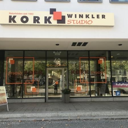 Geschäft Korkstudio Leipzig von aussen - Prager Straße 40