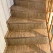 Treppe mit Kork